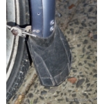 Mudflap for Chromoplastic mudguards