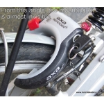 Mounting kit for AXA Defender/Victory and other frame lock on Cantilever / V brake