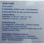 Busch und Muller IXON Core IQ2 50 lux battery headlight