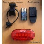 Cateye Omni 5 battery rear light