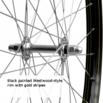 Wheels for traditional bikes
