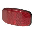 Rear rack reflector