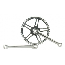 Single speed crankset for cotter pins