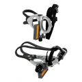 VP-398T Racing pedals with toeclips and straps