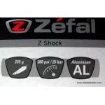 Zefal Z-Shock high pressure pump for suspension / suspension forks