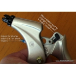 Saccon L14 brake levers adaptable for all cable braking systems