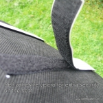 Alligt recumbent / velomobile seat cushion