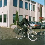 Steco Attache-mee briefcase carrier for bicycle rack