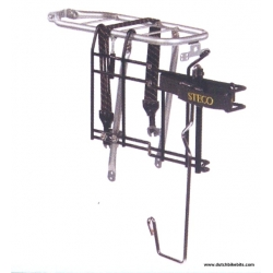 Steco Buggy Mee de luxe - pushchair carrier for bike