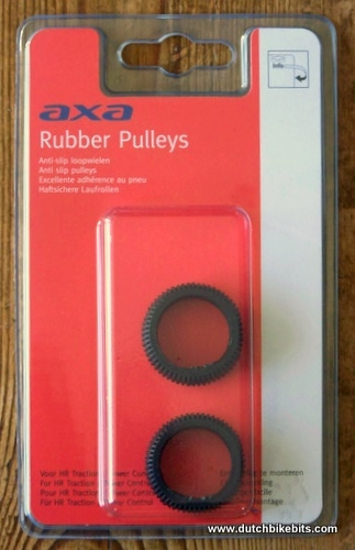Replacement Rubber Roller for Axa Traction Bicycle Bottle Dynamo PACK OF TWO