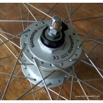28 inch wheel with Shimano dynamo hub (ETRTO 622)