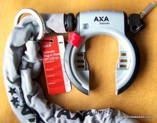 Bike Cable Lock >> AXA Defender / Victory Chain DPI 110
