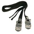 Toe clip straps