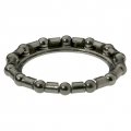 Ball bearings with retainers for headset