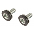 Bottom bracket bolts for square axle