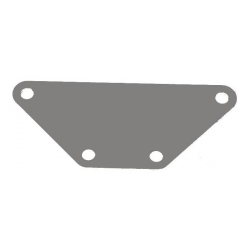 Rear light adaptor plate for Gazelle 30 mm bolt spacing