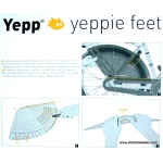 GMG Yeppie Feet - foot protector / coat protector