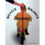 Bicycle Balance Trainer / training handle / pushing bar for teaching children to cycle (duwstang)