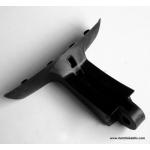 Headlight bracket for suspension fork