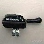 SRAM 3 speed hub gear shifter