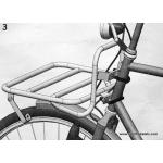Steco headtube mounted rack - wide