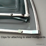 Hesling Classic Coat protector / Skirtguard / Jasbeschermer for older bikes
