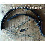 SKS Mudguard sets for recumbent bicycles