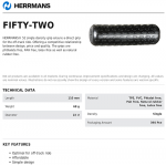 Herrmans Fifty Two (52) handlebar grips